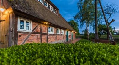 Reetdachhaus am Elbdeich